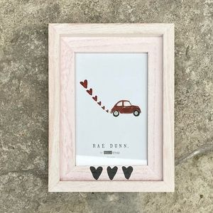 Rae Dunn Heart Detail Wooden Picture Frame